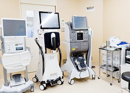 最新医療機器の導入
